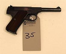 Colt The Woodsman semi-automatic pistol. Cal. 22 LR. 4-1/2