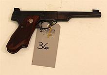 Colt The Woodsman Match Target semi-automatic pistol. Cal. 22 LR. 6.63