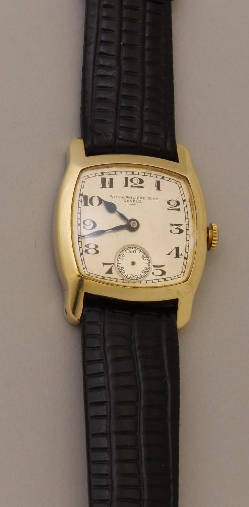 Patek Philippe & Co Geneve Gents Gold Wrist Watch