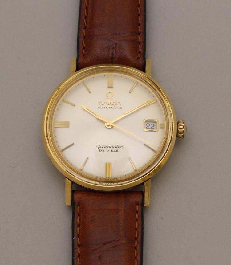 Omega Automatic Seamaster DeVille Gents Wrist Watch