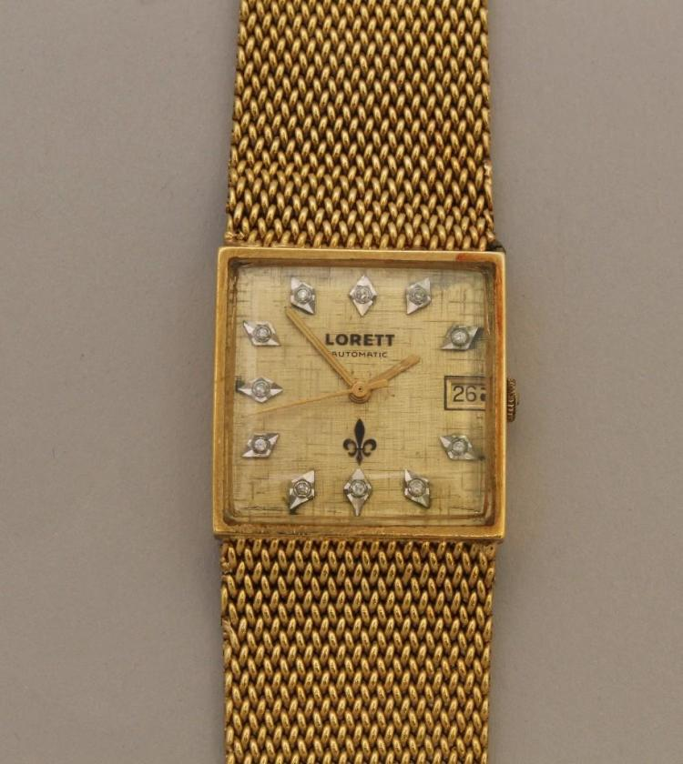 Lorett Gold Wristwatch