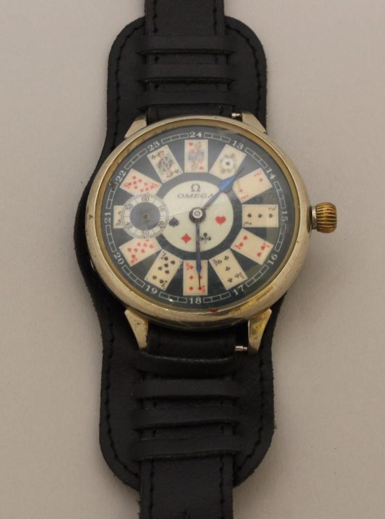 Omega Chronograph Wristwatch