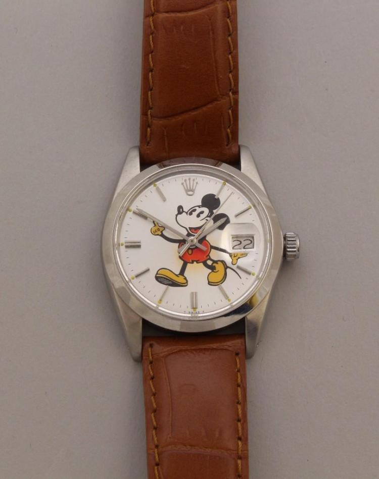 Rolex Mickey Mouse Wristwatch