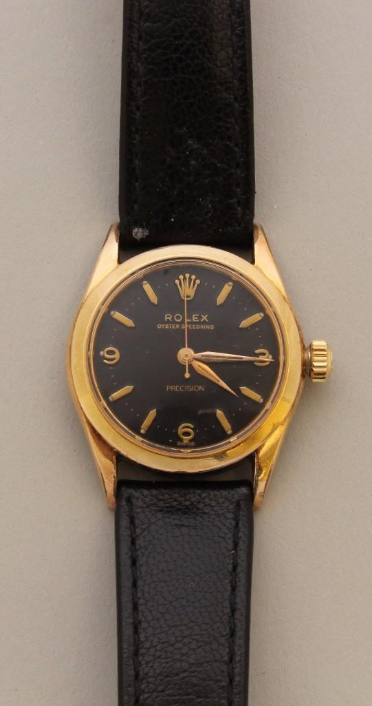 Rolex Oyster Speedking Precision Wristwatch