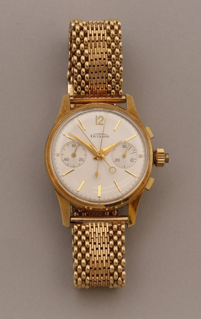 Guinand Gold Wristwatch