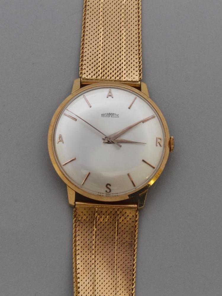 Arsa Matic Gold Wristwatch