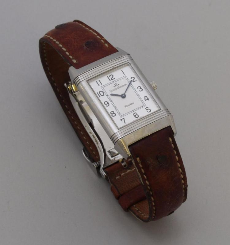 Jaeger-LeCoultre Reverso Tank Style Wristwatch