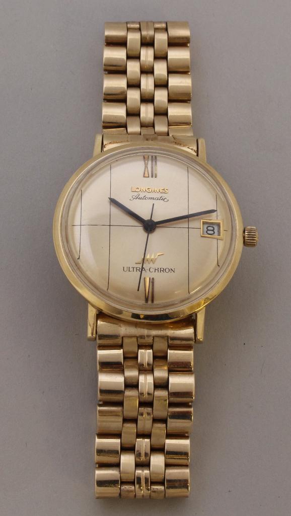 Longines Ultra-Chron Gold Wristwatch
