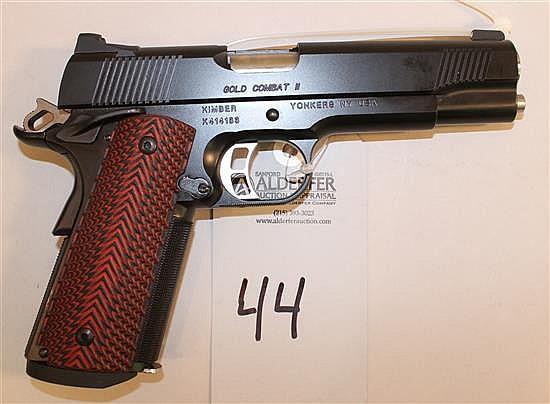Kimber Gold Combat II semi-automatic pistol. Cal. 45 ACP. 5