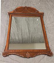 Carved Mahogany Mirror 48