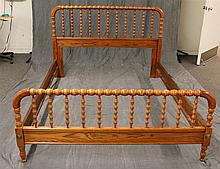 Full / Queen Jenny Lind Bed with Side Rails, 42 1/2