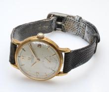 Omega Chronometre. 18K Yellow Gold