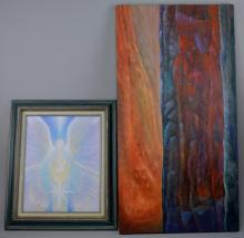 Lesta Bertoia Painting Grouping