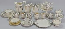 Lenox Silver Overlay China Grouping