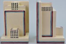 Robert Lallement Art Deco Bookends