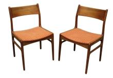 (2) Pair of Funder-Schmidt and Madsen Danish Side Chairs