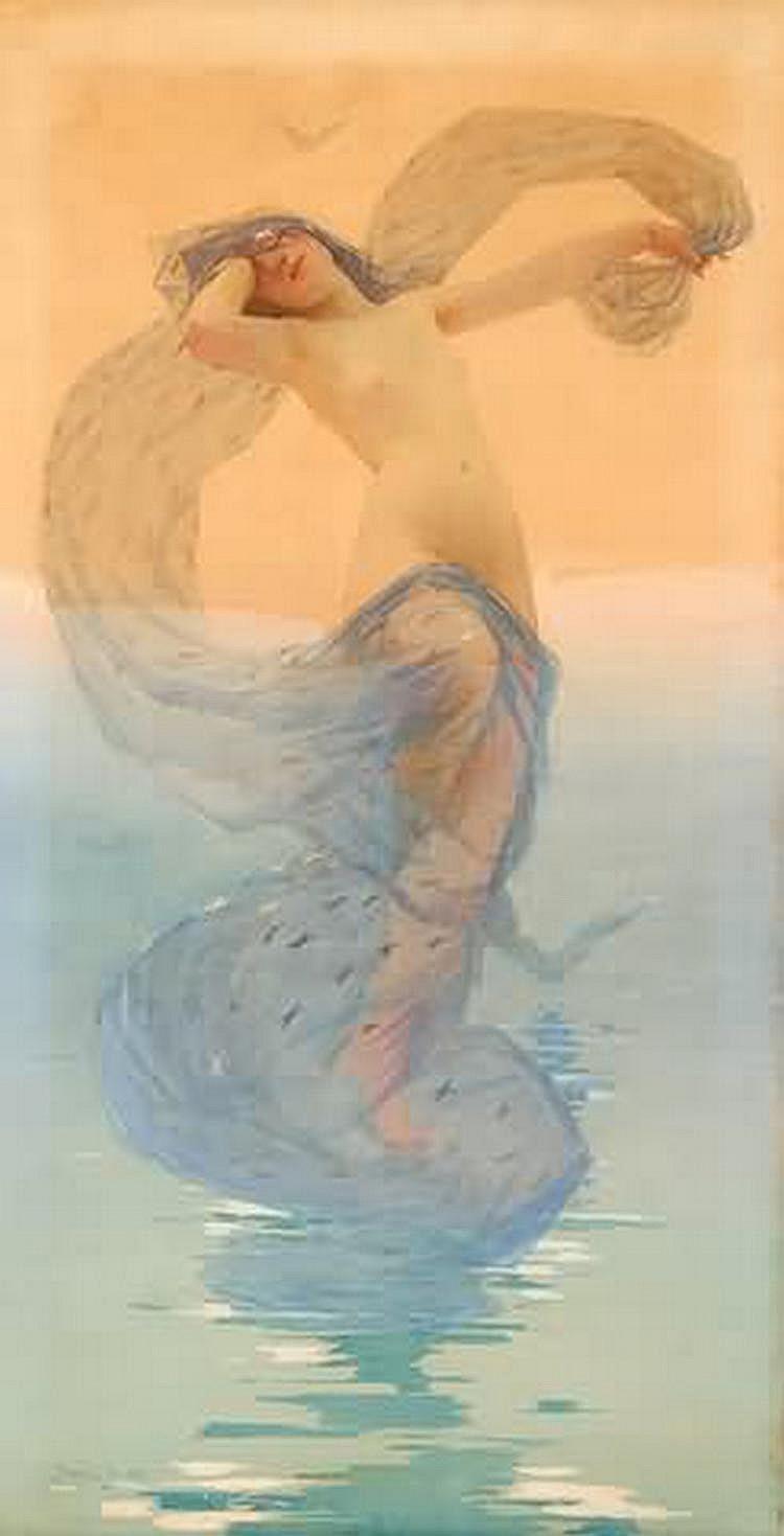 George Randolph Barse, Jr. Female nude