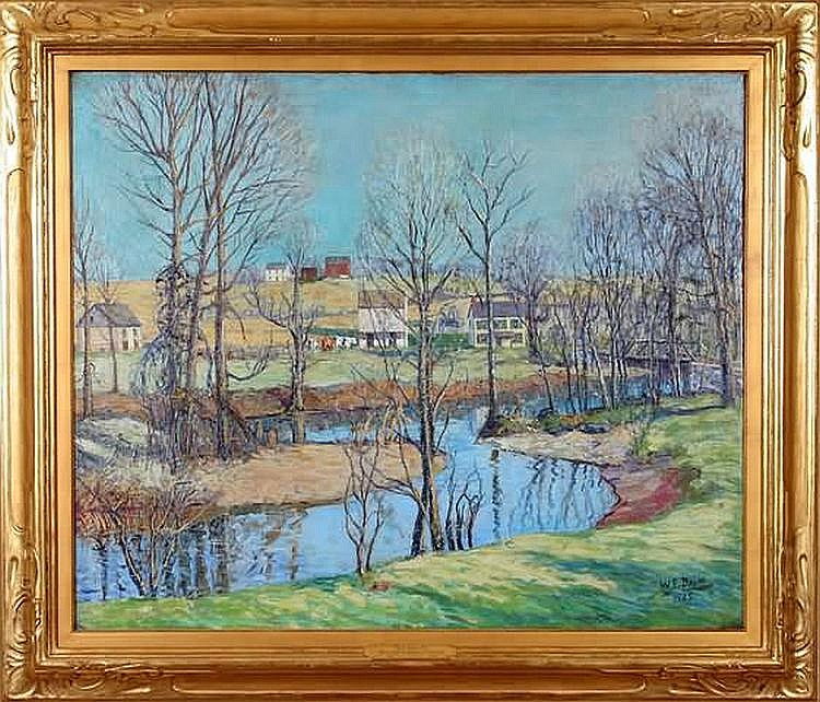 Walter E. Baum April Spring Day