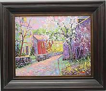 "Don F. Kaiser (b.1958, Pennsylvania) ""Spring Morning"""