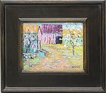 "Don F. Kaiser (b.1958, Pennsylvania) ""Warm Spring Day"""