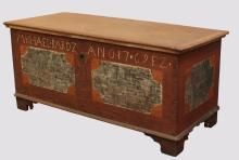 Pennsylvania Painted Dower Chest