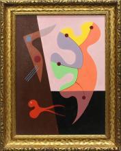 Seymour Zayon (b. 1930, Pennsylvania) Abstract