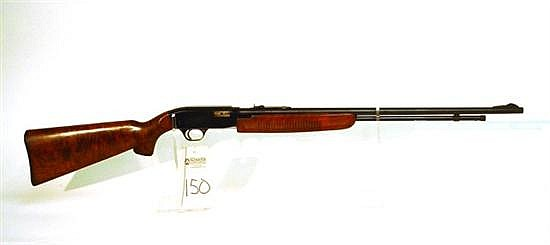 JC Higgins Model 33 pump action rifle. Cal. 22. 24