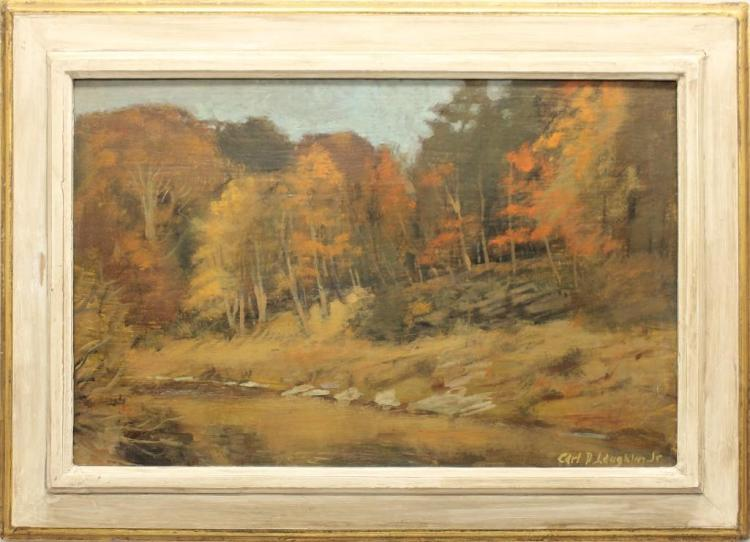 Carl D. Laughlin, Jr. (b.1926, United States) Fall Landscape