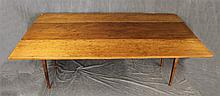 Authentic Rolf Hofer Harvest Table, Consists of Hickory, Ash and Poplar on Tapered Legs, 31