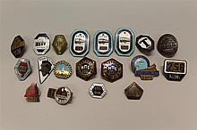 Soviet Transportation Badges