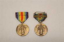 Pair of US WWI Campaign Medals