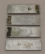 German WWII Die Plates
