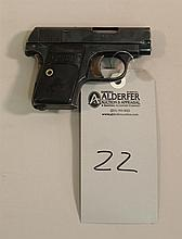 Colt Model 1908 Hammerless semi-automatic pocket pistol. Cal. 25 ACP. 2
