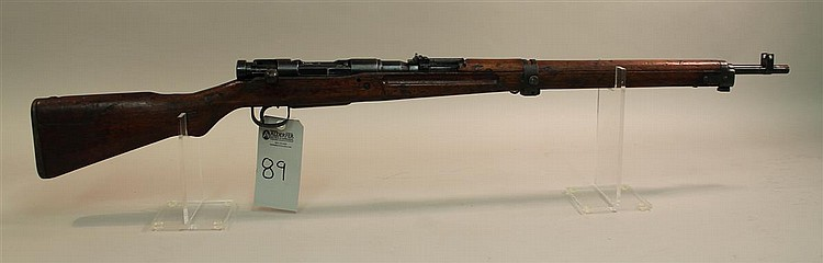 Japanese Arisaka Type 99 bolt action military rifle. Cal. 7.7 mm. 26