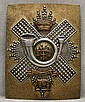 British Highland Light Infantry Crossbelt Plate