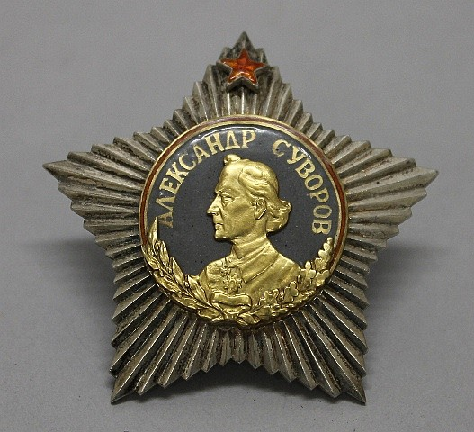 Soviet Union Order of Suvorov - First Class