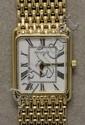 Ladies 14K Yellow Gold Geneve Wrist Watch