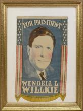 Presidential Campaign Hanging-1940-Willkie.
