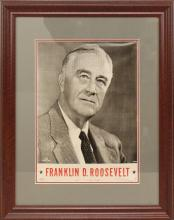 Presidential Campaign Poster -1944- Roosevelt