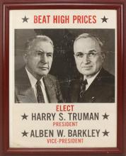 Presidential Campaign Poster -1948-Truman