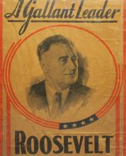 Presidential Campaign Poster -1936-Roosevelt