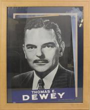 Presidential Campaign Poster -1948- Dewey