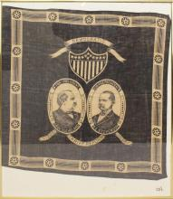 Presidential Campaign Bandana -1892- Cleveland