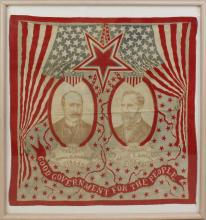 Presidential Campaign Bandana -1904-Parker