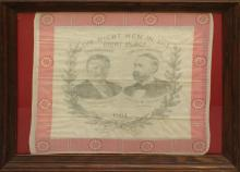 Presidential Campaign Bandana-1904- Roosevelt