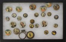 Grouping of William Jennings Bryan Presidential Political Buttons-1896