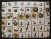 Grouping of Landon and Knox Political Buttons and Tin Boutonnieres-1936