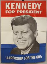 Presidential Political Poster -1960-Kennedy