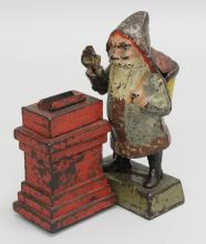 Shepard Hardware Co, Santa Claus by Chimney, Mechanical Bank