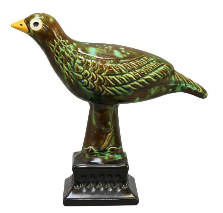 James C. Seagreaves Pottery Bird